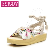 Butterfly knot Flowers Platform Concise Sweet Lady sandals Shoes woman Summer Casual Dating Black Blue Beige Big size 41 42 43 - YSISBY CO.,LIMITED store