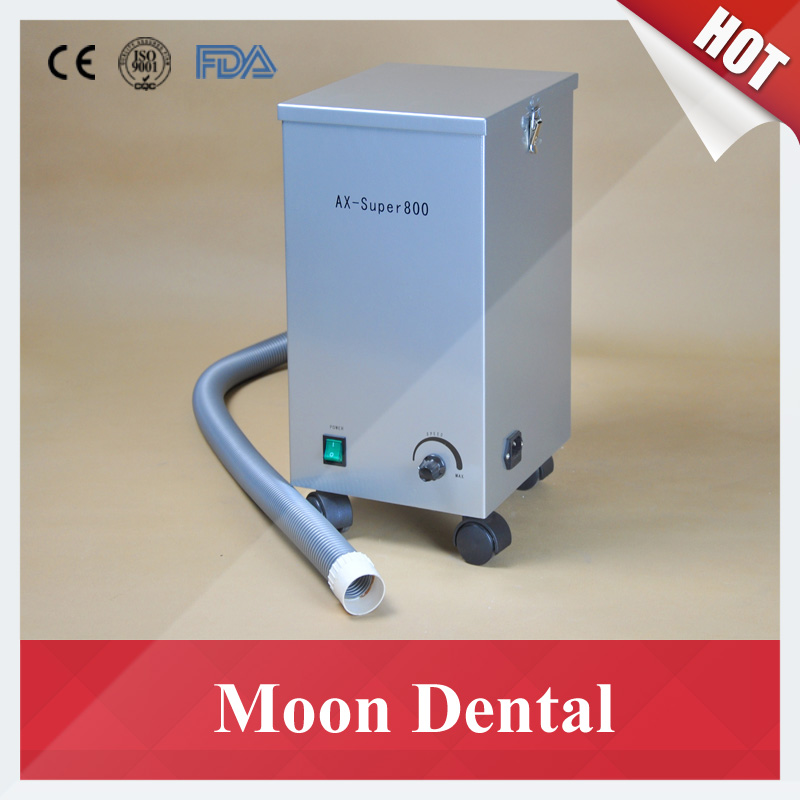 Mobile Dental Lab Equipment AX-SUPER800 Movable Dental Vacuum Dust Extractor for Sandblaster & Workstations in Dental Labs(China (Mainland))