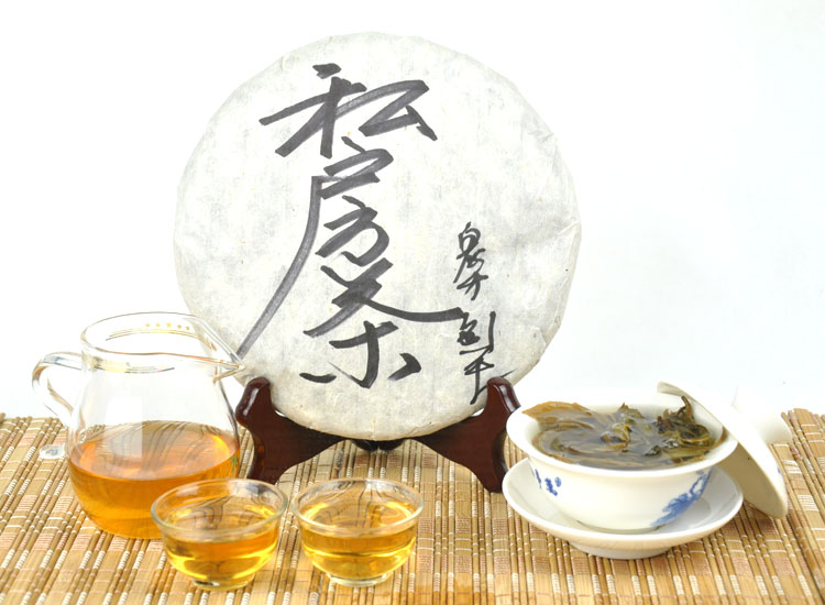 Private Puer tea pure tea material teas trees health care Chinese yunnan puer pu er 357g the health pu-erh food free cheap