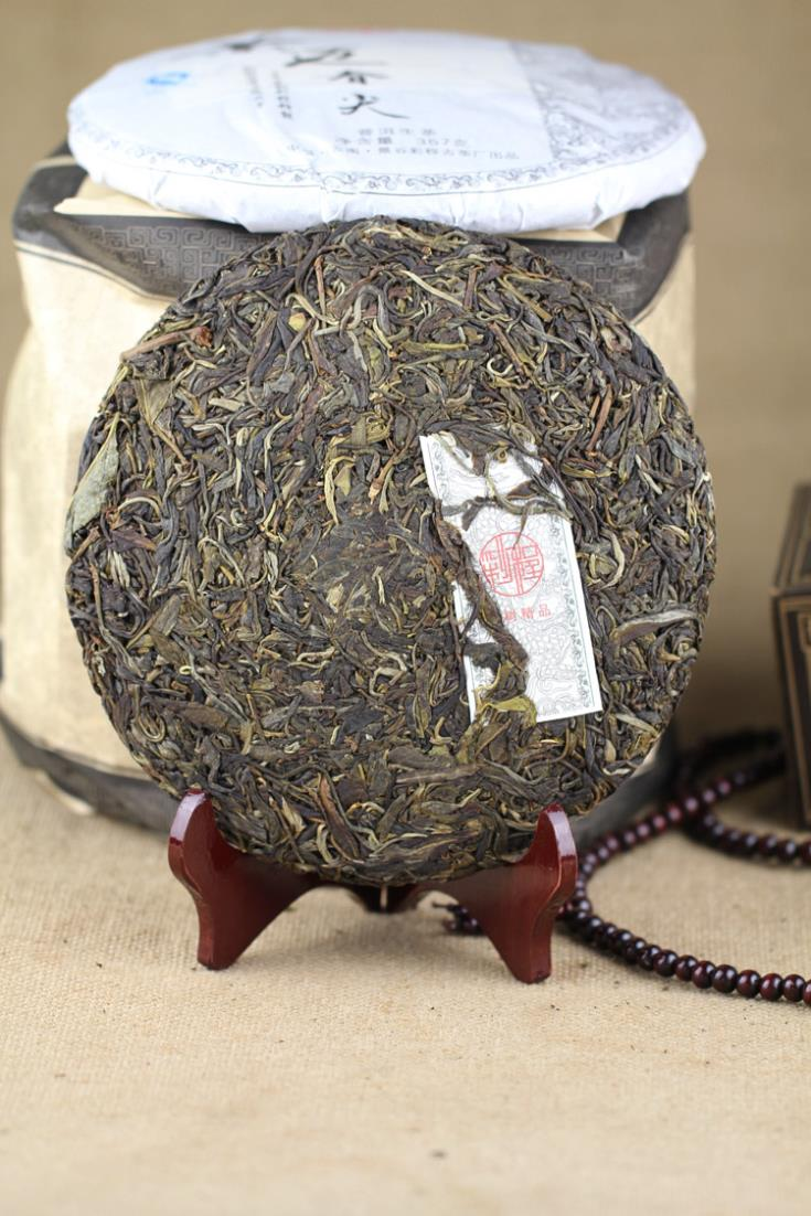 Spring tip Puer tea health care Chinese yunnan puerh 357g tea tree tea  cake  the China pu er cha to lose weight products cheap