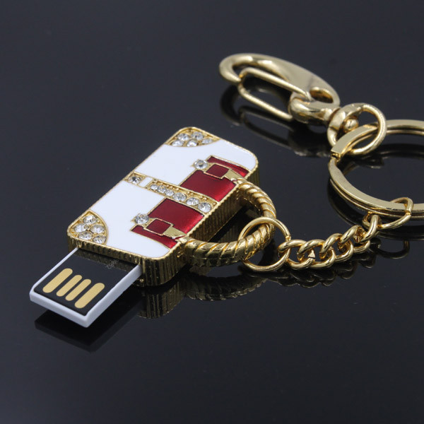 Hot sale jewerly bag usb flash drive 4GB 8GB 16GB 32GB pen driver with necklace memory stick pen(China (Mainland))