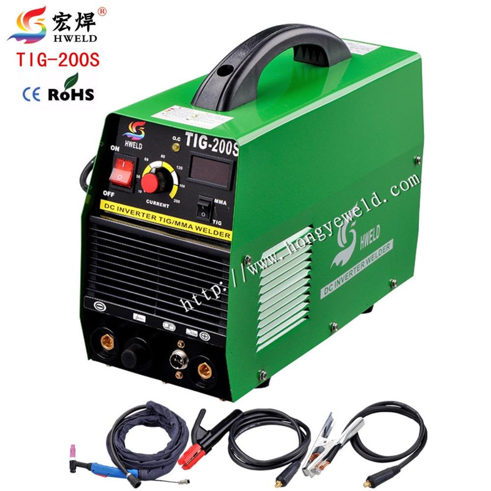 Inverter Tig Welding Tig Welder Multifunction Mini Inverter DC TIG/MMA Welding Machine/Equipment/Welders Micro Welder TIG-200S(China (Mainland))