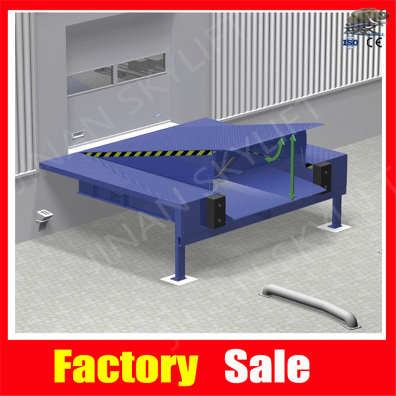 6T Hydraulic Operated Vertical Storing Dock Levelers(China (Mainland))