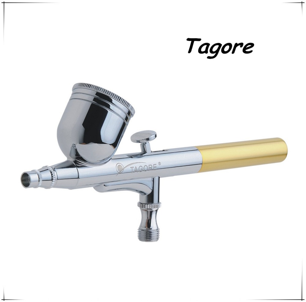 Tagore TG470(10PCS) Hot Sale Professional Gravity Feed Dual Action 7CC 0.3MM Temporary Tattoo Airbrush Gun<br><br>Aliexpress