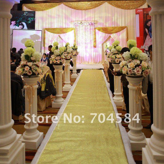 wholesale free shipping wedding decoration carpetpvc with pearl powder gliter carpetswedding t terrace decoration carpet