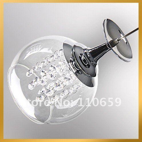 pendelleuchten 3 licht moderne kristall weinglas weinglas pendelleuchte lampe decke ems freies. Black Bedroom Furniture Sets. Home Design Ideas