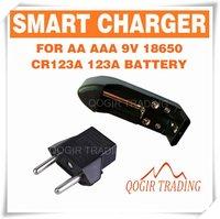 Зарядное устройство 18650 9V 14500 16340 C D 123A 6169