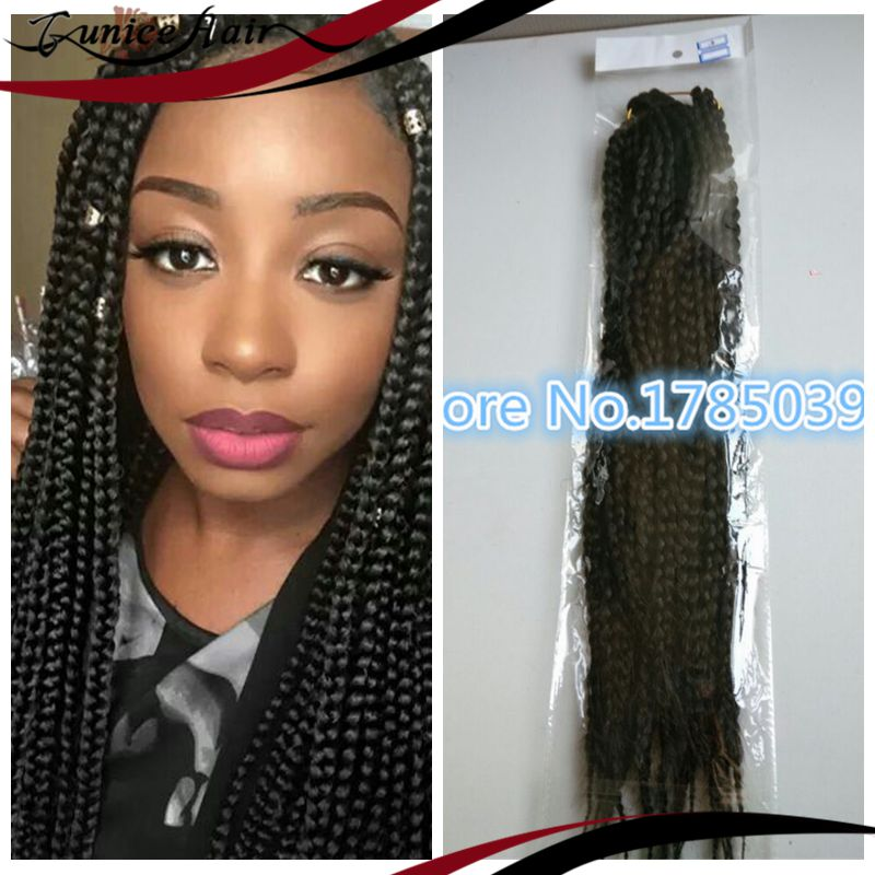 Crochet Box Braids Model Model : MODEL MODEL GLANCE LONG MEDIUM BOX BRAID FOR CROCHET BRAID HAND MADE ...