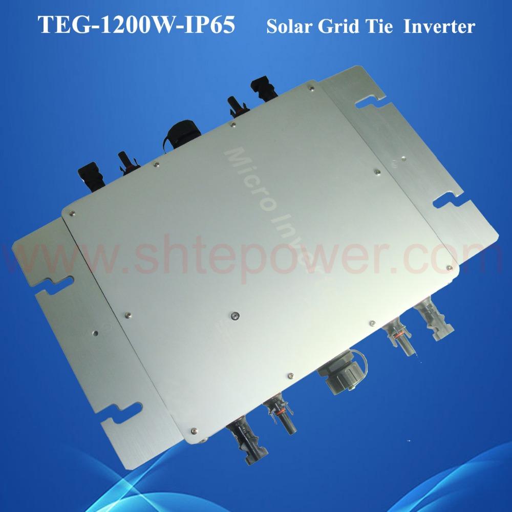 high effeciency 1200w waterproof solar grid tie inverter 24v to 230v solar inverter,pure sine wave inverter 1200w(China (Mainland))