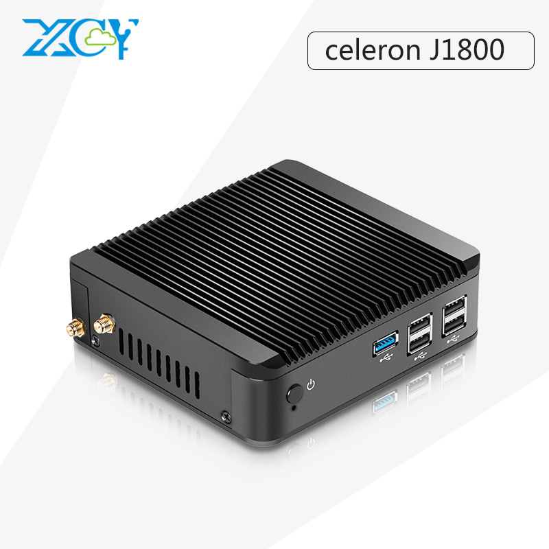 Hot Celeron Dual Core X30 j1800 Mini PC Ubuntu win 10 mini pc Linux PC Support Win 7 linux System HDMI+VGA embedded pc(China (Mainland))