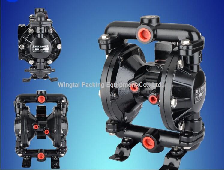 High Quality Aluminum Alloy Double Way Pneumatic Diaphragm Pump 15#(China (Mainland))