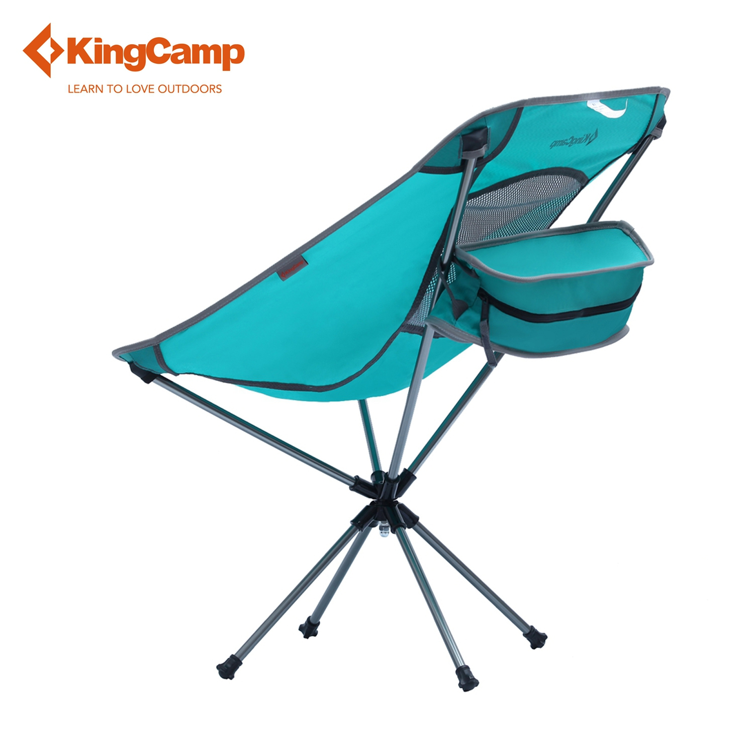 kingcamp portable ultralight fishing chair outdoor swivel. Black Bedroom Furniture Sets. Home Design Ideas