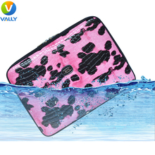 Luxury Leopard Zipper Womens Patent Leather Laptop Liner Sleeve For Macbook Pro/Air/Retina 11 12 13 inch Laptop Bag for Ladies(China (Mainland))