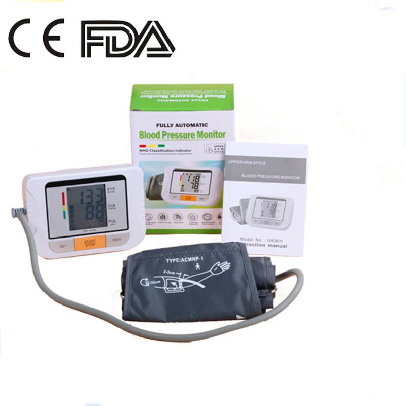 Blood Pressure Gauge Fully Automatic Digital Upper Arm Blood Pressure Monitor Tonometer Customized Large Cuff BP Monitor(China (Mainland))