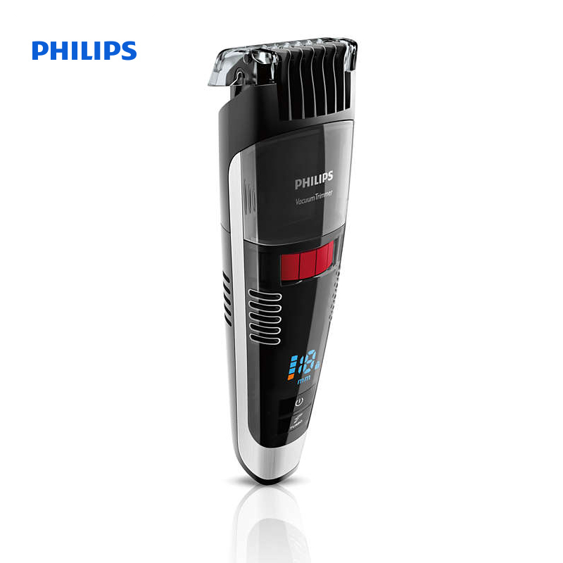 philips beardtrimmer series 7000 vacuum stubble and beard trimmer 1mm precision settings turbo. Black Bedroom Furniture Sets. Home Design Ideas
