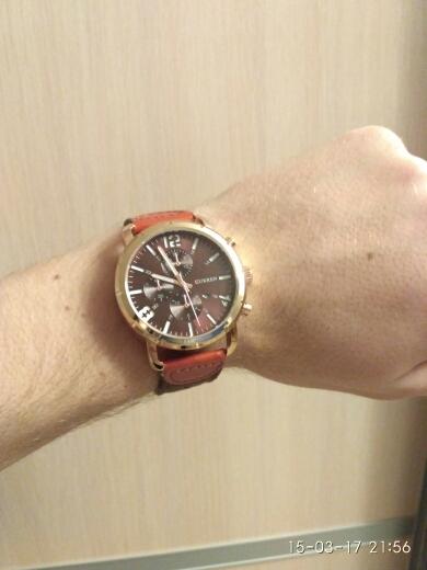Часы зачёт, тяжёлые, достаточно крупные, ремешок ваще песня, на работе товарищи подумали, что тыщь за 5 брал, сделаны отлично, советую)))