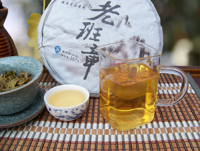 Puer tea spring tea old class Chinese yunnan puerh 357g chapter health care the China pu er cha to lose weight products cheap