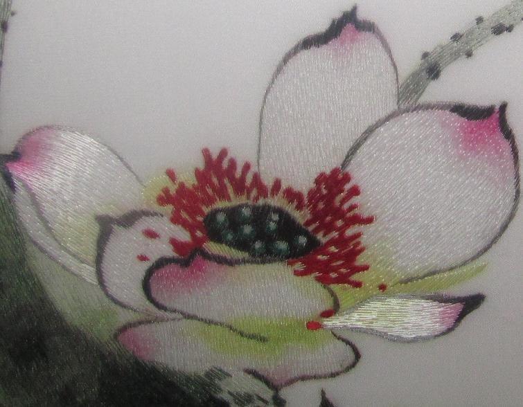 Envío gratis clásicas flores chinas y aves pintura hechos a mano ...