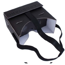 Colorful Google Cardboard VR Virtual Reality 3D Glasses for Mobile Phone 6.0 Screen DIY 3D VR Google Glasses Free shipping(China (Mainland))