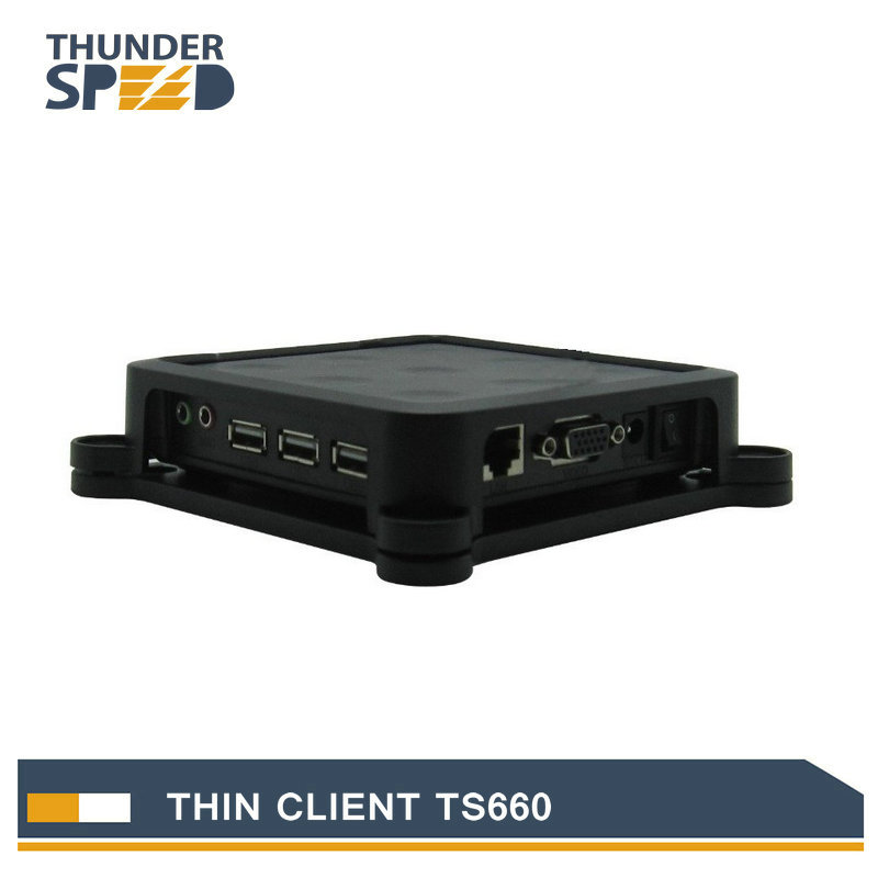 Newest ARM11 Thin Client Net Computer PC Station TS660 Win CE 6.0 Embedded Server OS Support Winows 7 /vista/Linux/xp(China (Mainland))