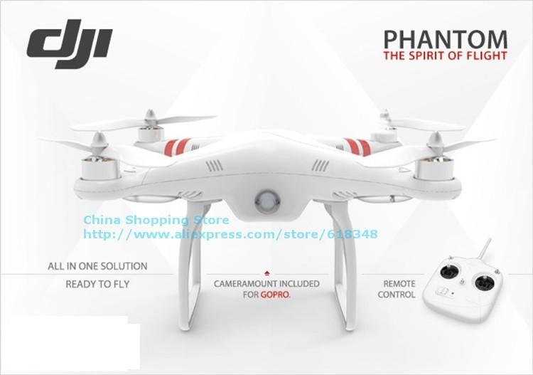 DJI Phantom rc quadcopter drone