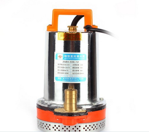 New Submersible DC12V Solar Well Water Pump Solar, Battery Pump Electric Pump for Agriculture(China (Mainland))