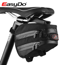 EasyDo Outdoor Waterproof Road Bicycle Accessories Mountain Bike Saddle Bag Cycling Seat Pack With Rain Cover Bici Bolsa(China (Mainland))