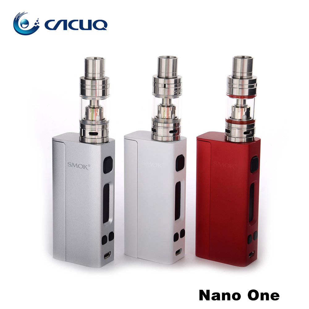 Original Smok Nano One Kit / R-Steam Mini Mod Kit Temp Control huge vape e cigarette kit 80W box mod 4400mah capacity no battery(China (Mainland))