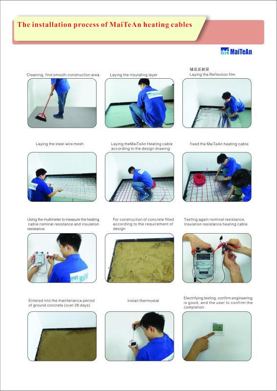 Invernadero estera de calefacci n con flexible fepjacket - Sistemas de calefaccion para el hogar ...