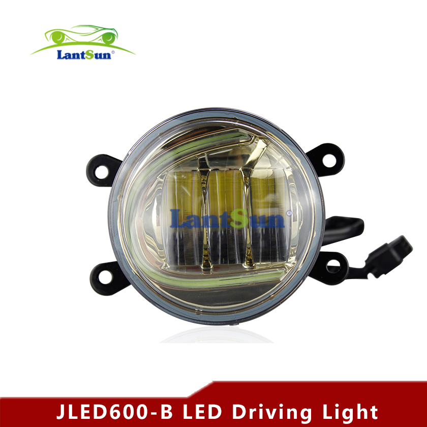"hot sale Pair 2400lm 6000k 4.5"" 30w round led driving light with U halo angel eye fit A4 A6 Harley auto SUV truck(China (Mainland))"