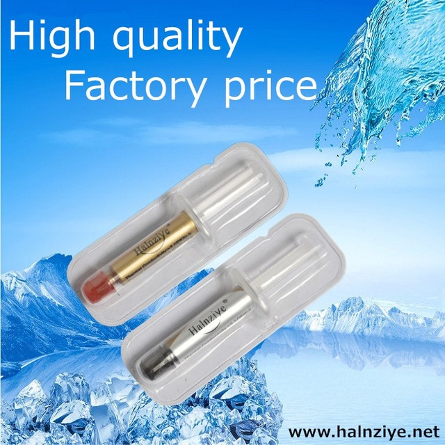 Free Shipping Cpu Amp Gpu Heat Sink Silver Gold Thermal