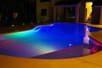 Подводное освещение PAR56 SMD5050 144LEDs 30 12 IP68 CE & ROHS PC RGB LED
