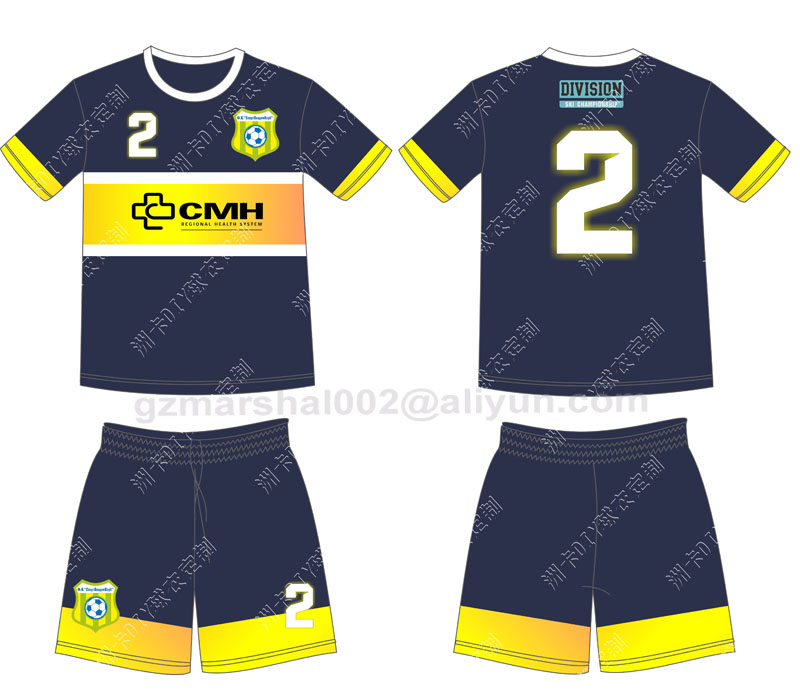 Colorful custom made new popular Soccer Jersey in Thailand quality(China (Mainland))