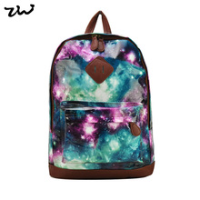 ZIWI Brand New New New Outer Space Galaxy Charming Women Backpack School Rucksack Shoulder Bags TB220(China (Mainland))