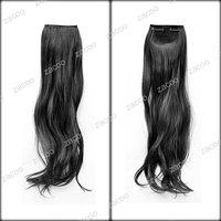 45x9cm размер фигурные черный Заколка в волосы расширение ha0010-1