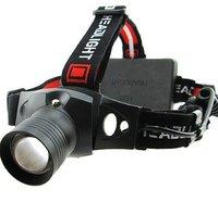 Налобный фонарь 5W 300 CREE Q5 3 300Lm 18650