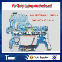 original Laptop motherboard DA0HK8MB6E0 A1944994A FOR SONY SVF14 with Pentium SR0VQ CPU Laptop motherboard.DDR3 Fully tested