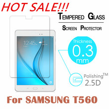 """9H 2.5D 0.3mm Explosion-Proof Toughened Tempered Glass For Samsung Galaxy Tab E T560 T561 9.6"""" Film Clear Screen Protect Cover(China (Mainland))"""