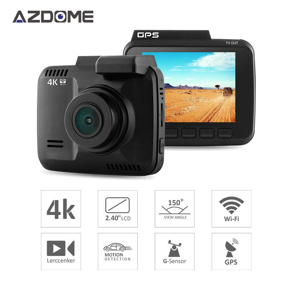 "Azdome GS63H WiFi Car DVR Recorder 2.4"" Novatek 96660 Camera Built in GPS Camcorder 4K 2160P Dash Cam G-sensor Night Vision H41(China (Mainland))"