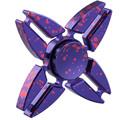 Four Corners Crab Star Rotation Long Tri Spinner Fidget Metal EDC Fidget Spinner Hand Spinner For