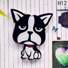 Fascino Animale Domestico Cani Del Pendente Distintivo Decorato Spilli Del Fumetto Carino Spille Telefono Borsette Pasta A Duplice Uso A Ruolo di Atto Di Uomini e Le Donne del Regalo(China)