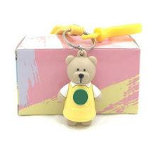 2019 novos projetos!!! brinquedos figura Da Boneca Chaveiro Urso Dos Desenhos Animados charme para garrafa térmica copo caneca presente amigo anel brinco(China)