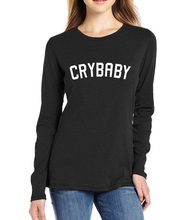 Buy CRYBABY GRIL long sleeve clothes FUNNY kawaii streetwear harajuku t-shirt 2017 summer brand clothing homme t-shirts women tops for $9.48 in AliExpress store